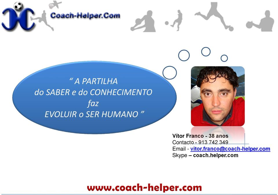 anos Contacto - 913 742 349 Email - vitor.