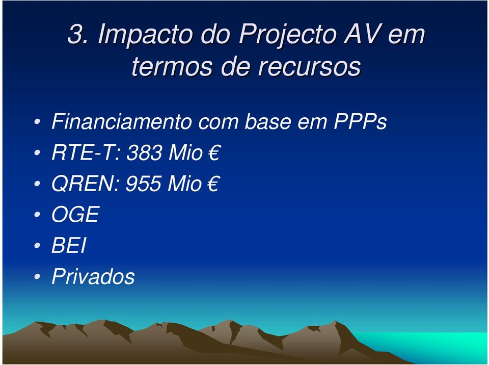 Financiamento com base em PPPs