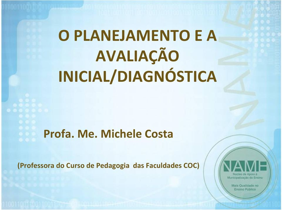 Michele Costa (Professora do