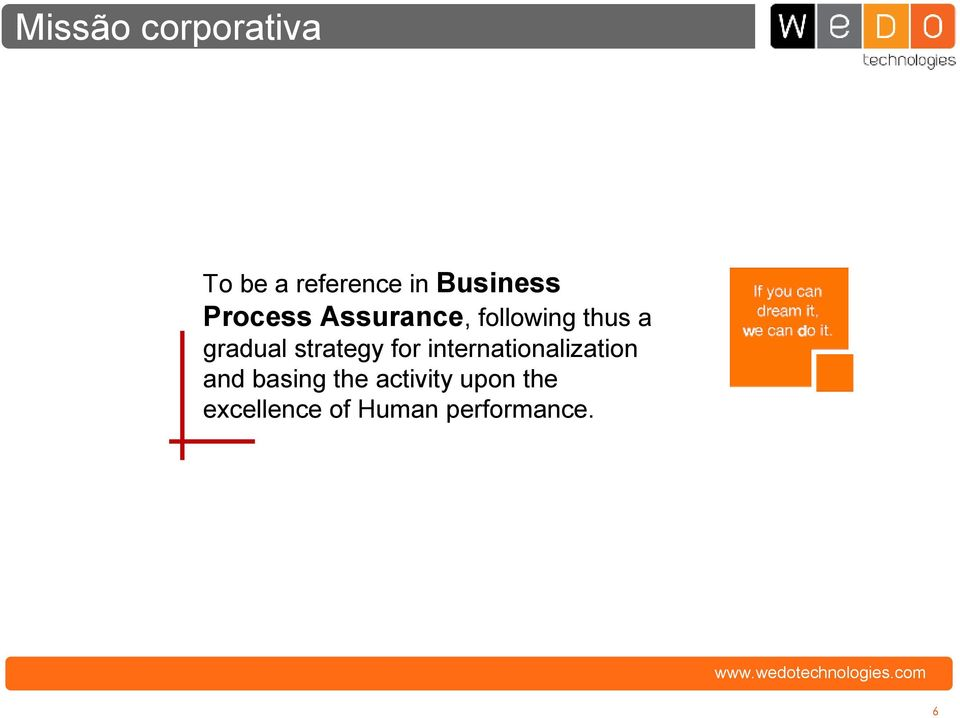 strategy for internationalization and basing the