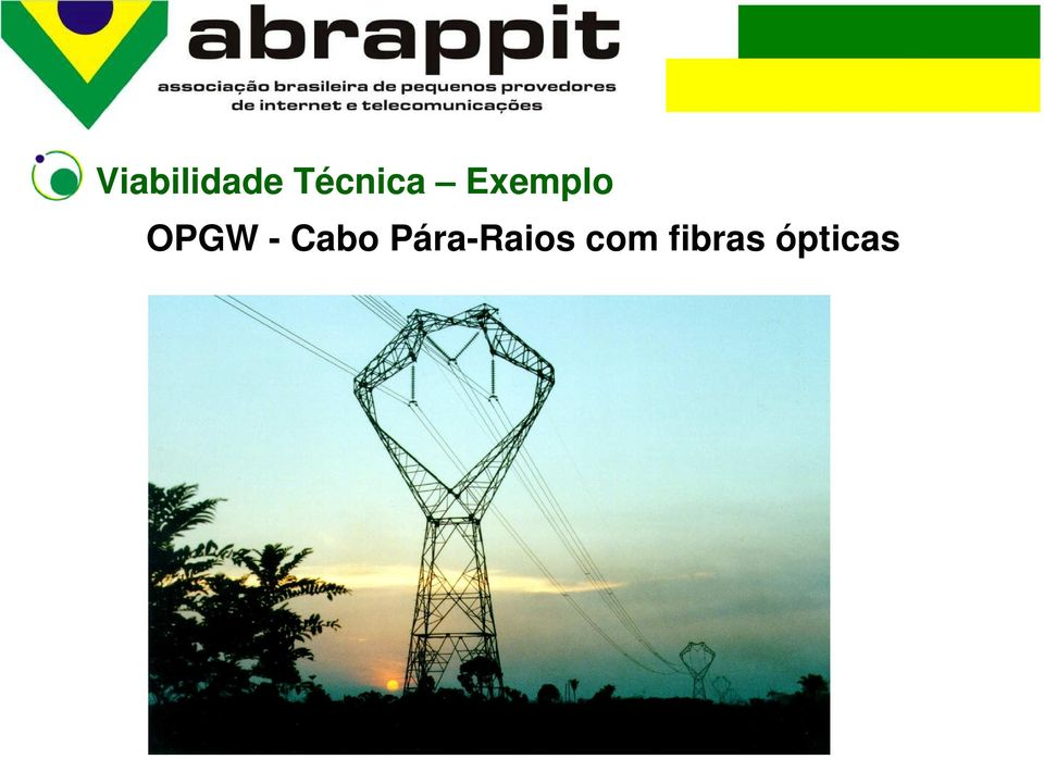 OPGW - Cabo