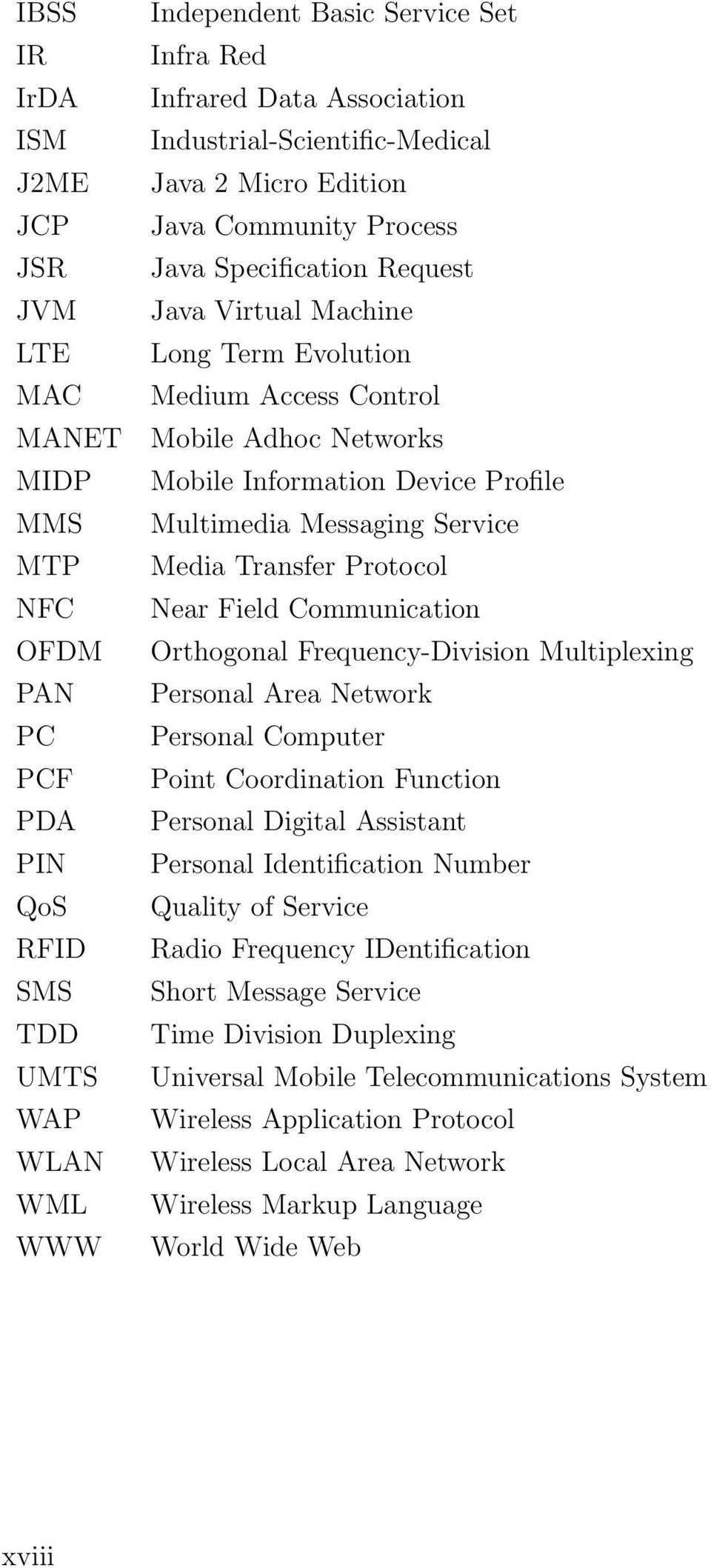 Information Device Profile Multimedia Messaging Service Media Transfer Protocol Near Field Communication Orthogonal Frequency-Division Multiplexing Personal Area Network Personal Computer Point