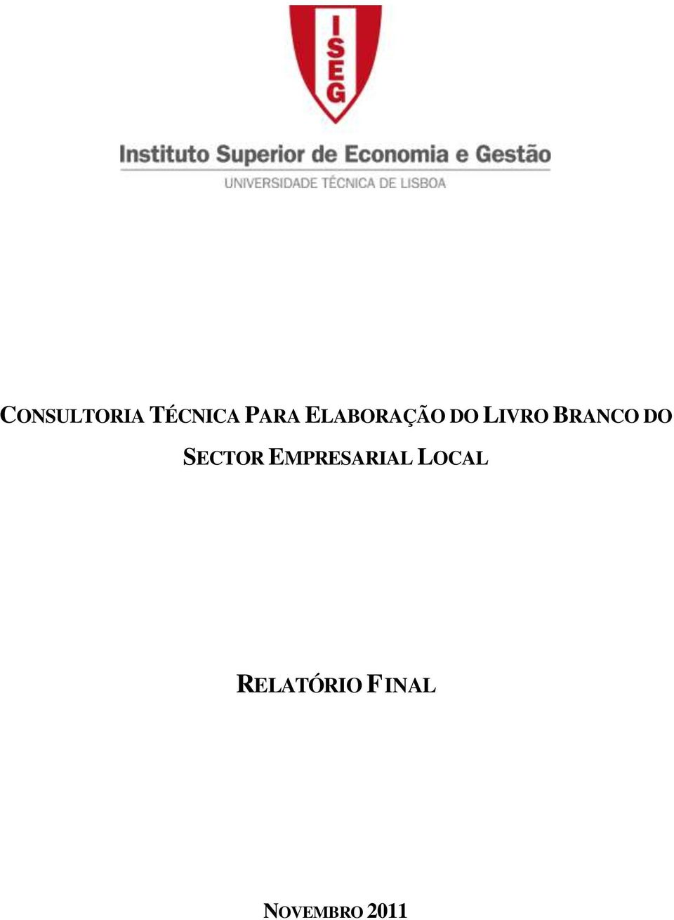 DO SECTOR EMPRESARIAL LOCAL