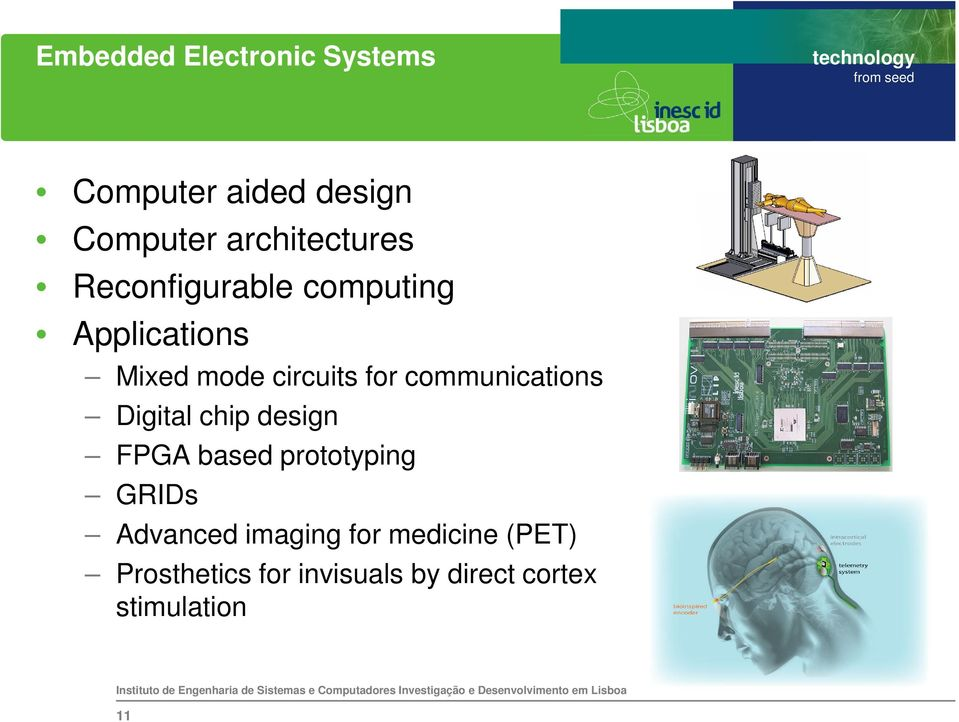 communications Digital chip design FPGA based prototyping GRIDs Advanced