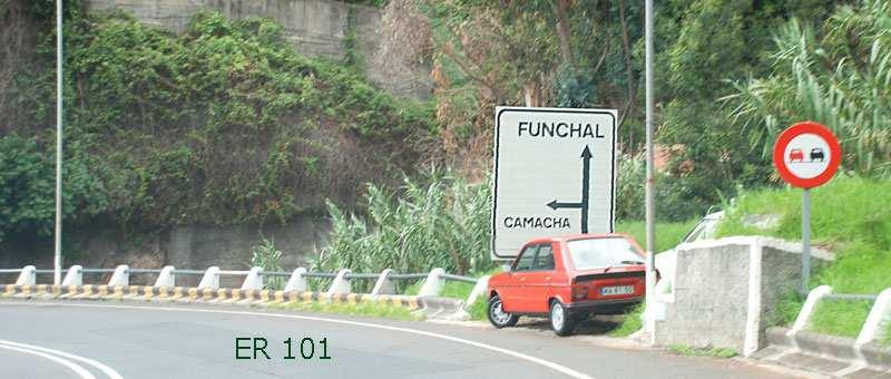 Picture #3: 300 m after Exit 13 take road direction Camacha.