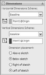 These settings mainly affect sketch relations. Automatic Solve is turned on by default.