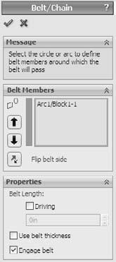 Part I: SolidWorks Basics l Edit Block. Enables you to edit an existing block as if it were a regular sketch. l Insert Block.