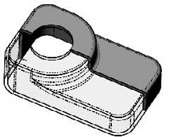 Part I: SolidWorks Basics If the order of operations used in the previous part were slightly reordered (by putting the shell and fillet features before Step 6), the resulting part would also look