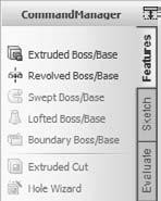 Part I: SolidWorks Basics You can also left-click the special tab on the right and skip the Add Tab menu.