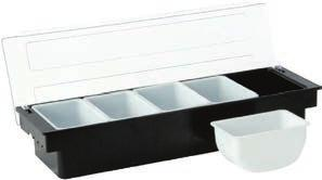 INOX 3 COMPARTIMENTOS 200 x 70 (5) x L (mm) x H