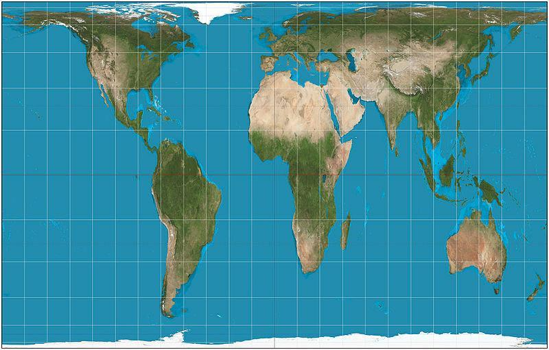 0 Unported Imagem: CaseyPenk, Vardion / 180 degree rotated map of the world / 6 June 2008 / Public