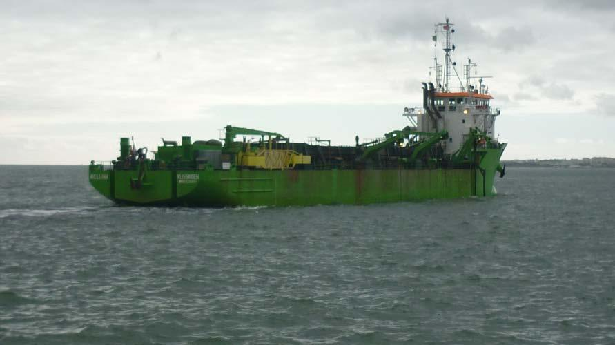 OF DREDGING 3 to 4 dredging campaigns a year