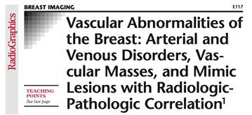 Masoumeh G et al. Magnetic Resonance Imaging Features of Adenosis in the Breast.