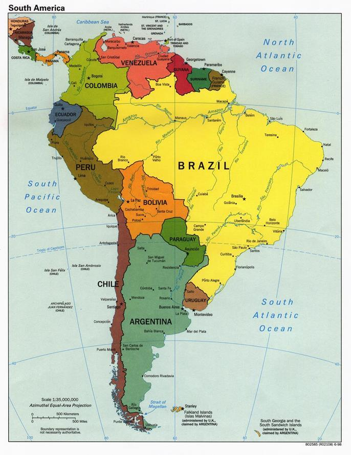 Brazilian Population: 200M Estimation of 827,000 PLWH in Brazil Brazil is the largest country of South America, thus,