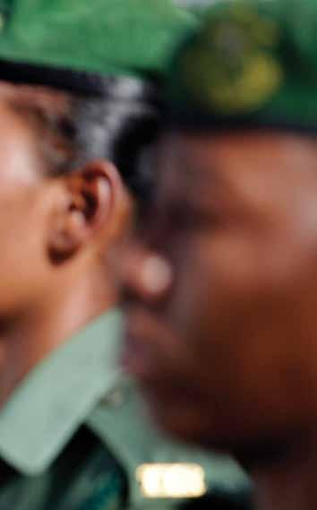 REUTERS : Did you face any challenges as a woman in the army? Warrant Officer Class 1 Scanterbury: Yes in a good sense. Women in the Army at the time were an inspiration for the guys.