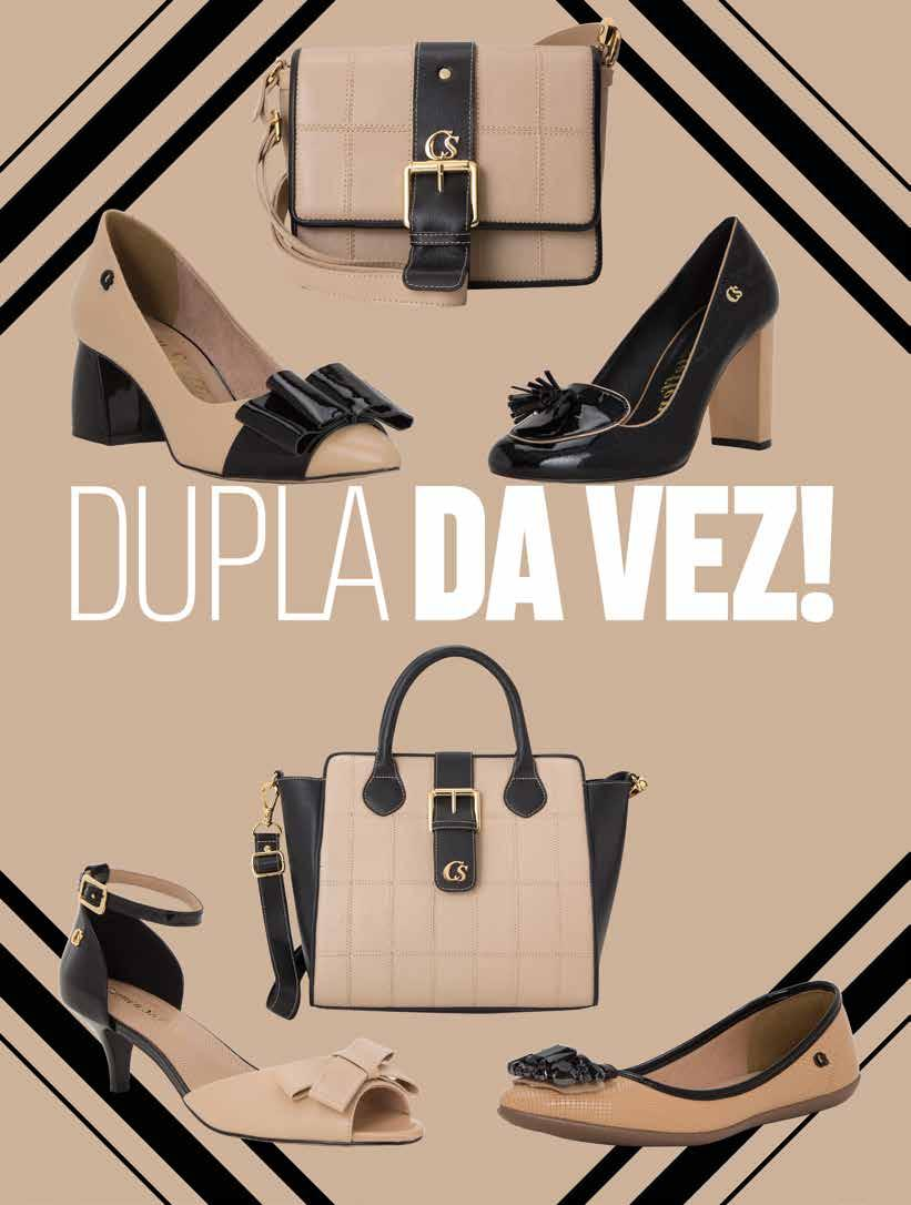 213825c3a6 COLLECTION PRETO E NUDE BOLSA (B896-399.155C) 7X R 99