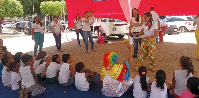 92 Conhecer para Nutrir Project (Learn to Nourish Project) Developed in the municipality of Barreiras, in Bahia, the Conhecer para Nutrir Project aims to contribute to improving the nutrition of