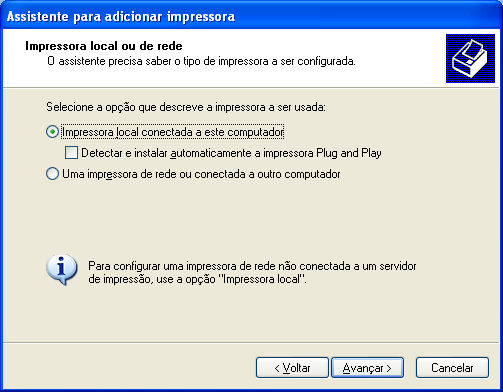 STK (Start Kit DARUMA) Driver Genérico Somente Texto para as impressoras Não-Fiscais (DS300, DS348, DR600, DR700) no Windows XP.