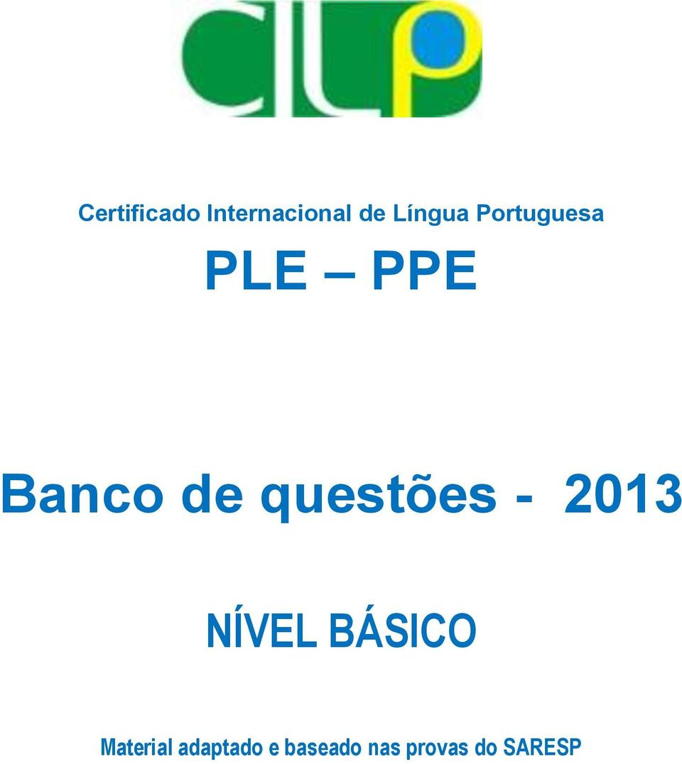 Ple Ppe Banco De Questoes Pdf Download Gratis