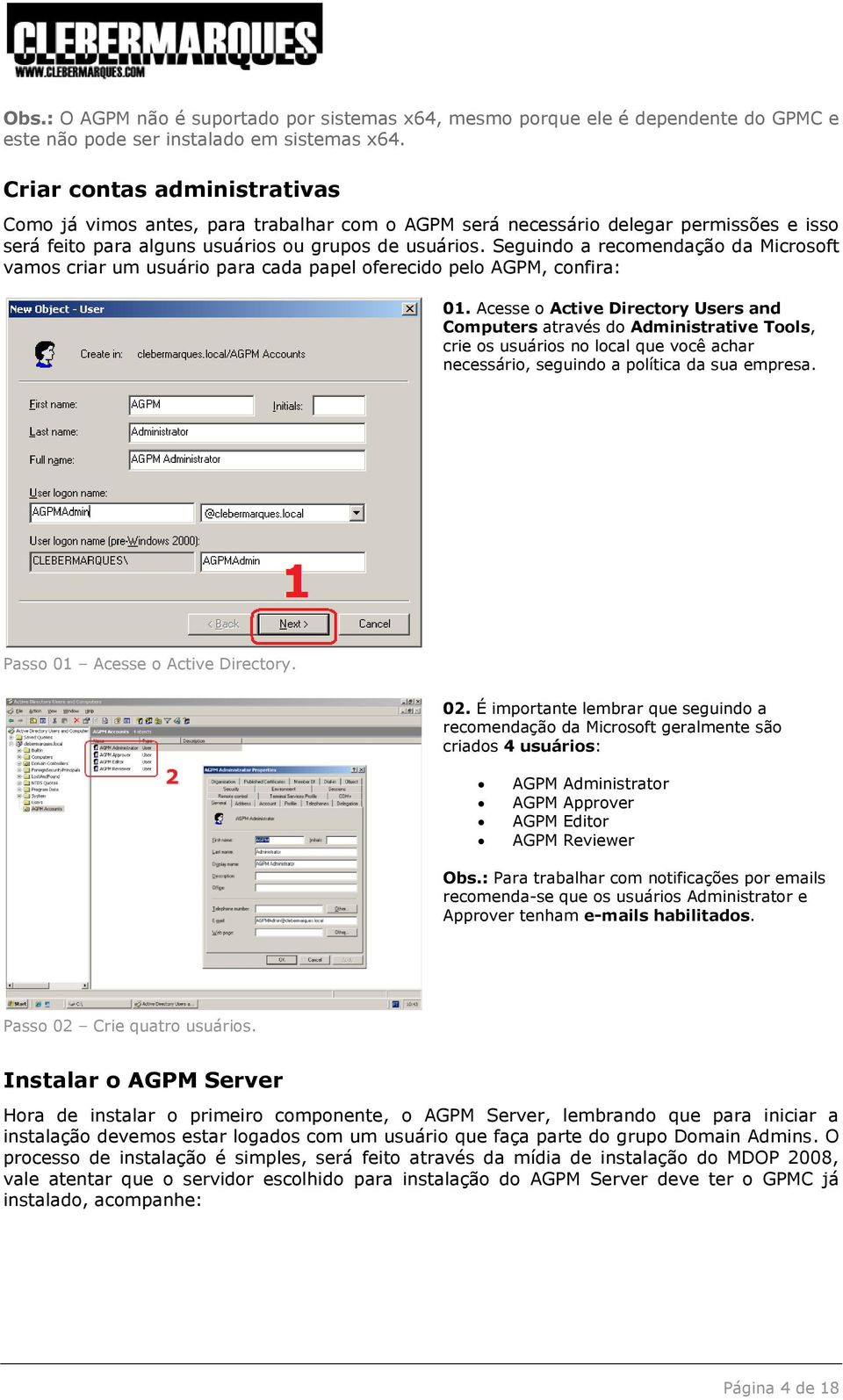 Advanced Group Policy Management (AGPM) PDF
