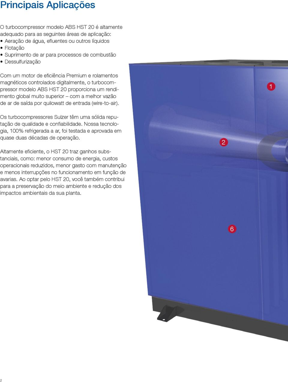 Turbocompressor modelo ABS HST 20 - PDF