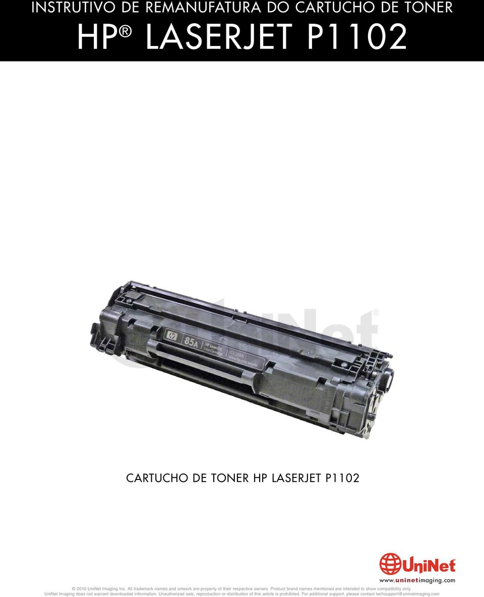 Instrutivo De Remanufatura Do Cartucho Toner Laserjet P1102 Block Diagram Samsungscx6555 Hp