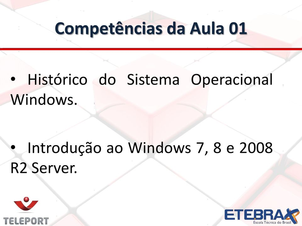 Operacional Windows.