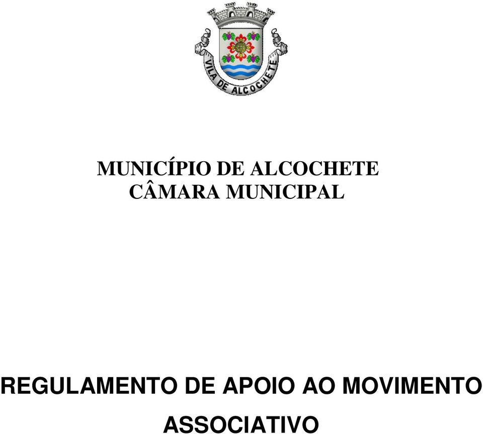 MUNICIPAL REGULAMENTO