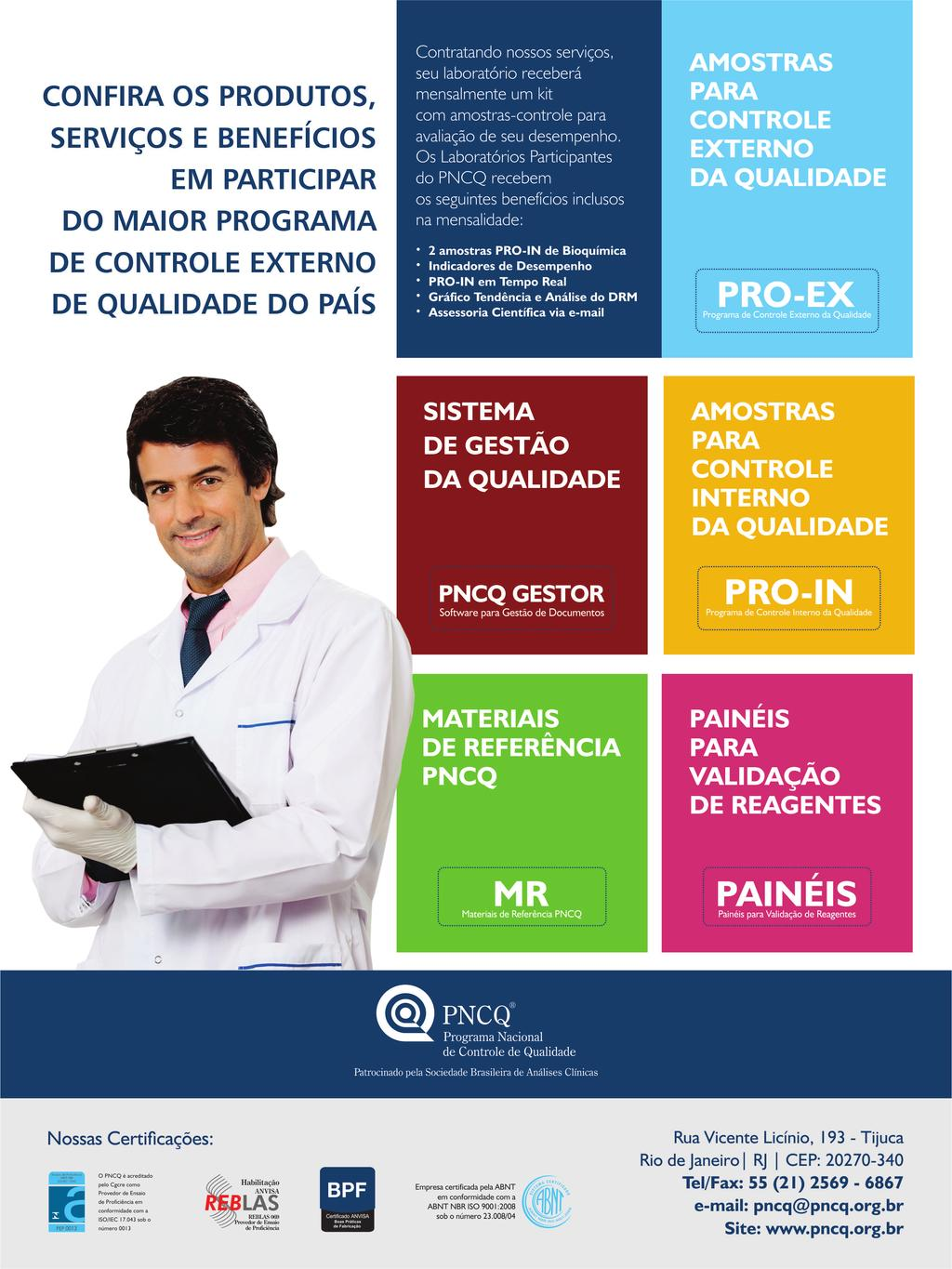 76ada6f53 ISSN Brazilian Journal of Clinical Analyses - PDF